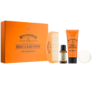 Thistle + Pepper Men's Grooming Beard Kit