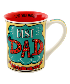 Best Dad, You're The Man Mug