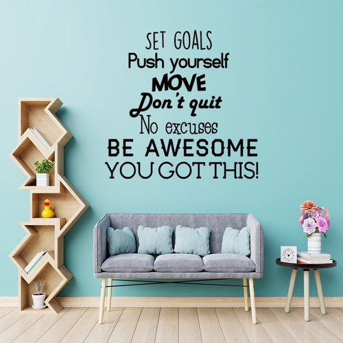 Set goals | Motivación