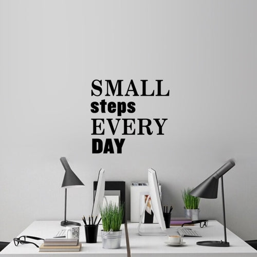 Small steps | Motivación