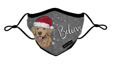 Simply Southern - Youth Holiday Mask - Believe
