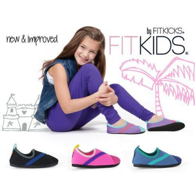 FITKIDS Active Lifestyle Fitkicks Shoes for Kids - Black