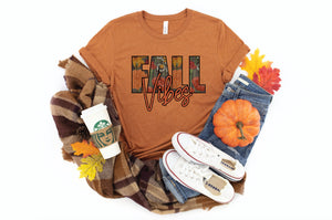 PREORDER - Floral Fall Vibes Boutique Soft Tee