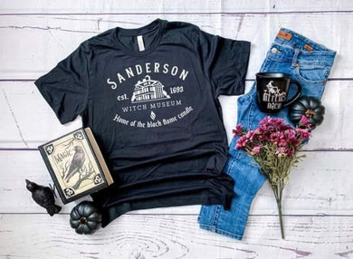 PREORDER-Sanderson Witch Museum Halloween Boutique Soft Tee