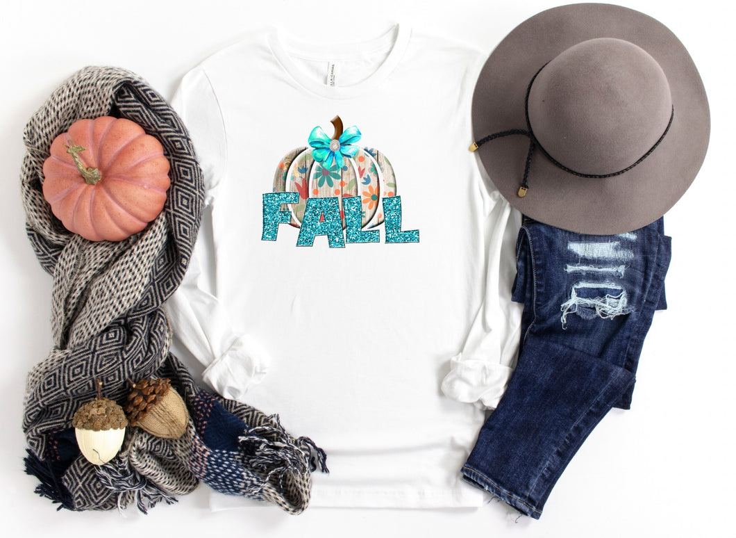 PREORDER - Daisy Pumpkin Fall Boutique Soft Tee