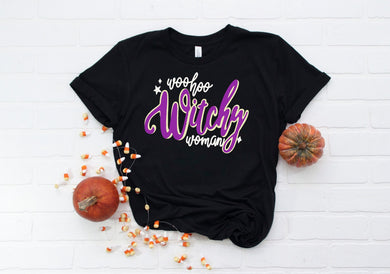 PREORDER - Woo Hoo Witchy Woman SS Boutique Soft Tee
