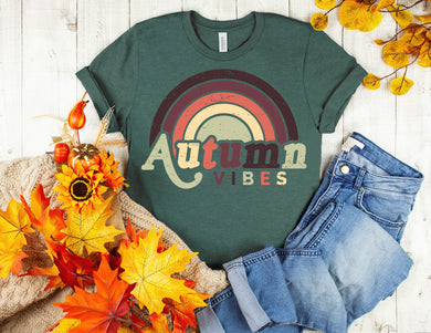 PREORDER - Retro Autumn Vibes Boutique Soft Tee