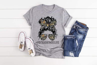 PREORDER - Mechanic Wife Life Boutique Soft Tee