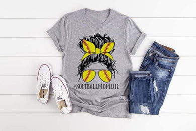 PREORDER - Softball Mom Life Boutique Soft Tee