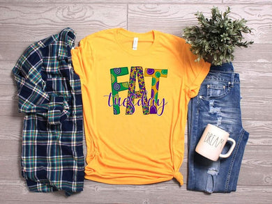 PREORDER - Fat Tuesday Mardi Gras Boutique Soft Tee