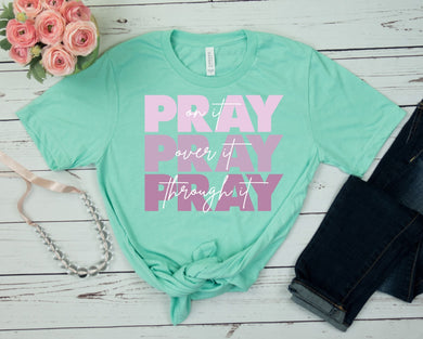 PREORDER - Pray On It Boutique Soft Tee