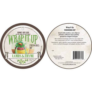 Lambs & Thyme Gourmet Herb Blend Dip Mix - Wrap It Up - Spicy