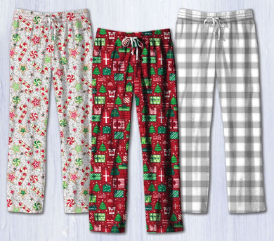 PREORDER Southern Couture Holiday Lounge Pants - Christmas Candy