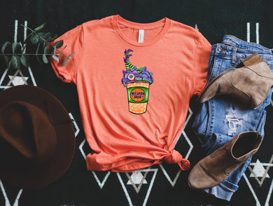 PREORDER- Witches Brew Coffee Halloween SS Boutique Soft Tee