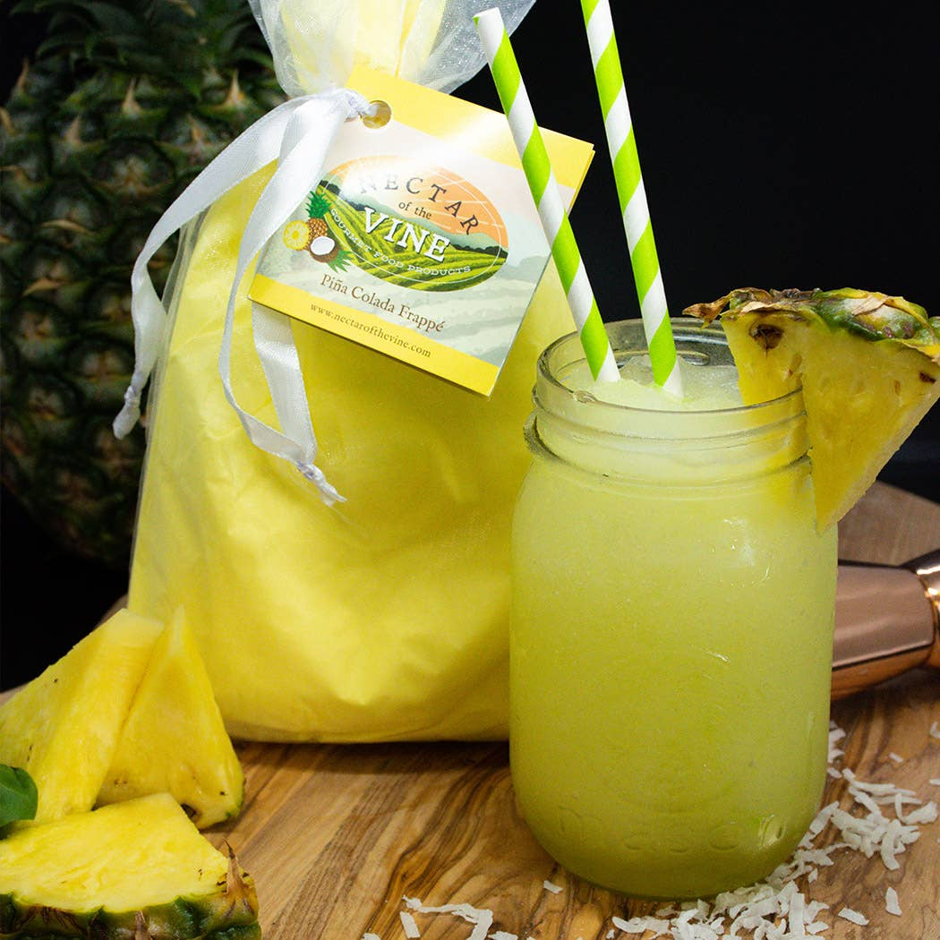 Pina Colada Frappé Wine Slushy Mix by Nectar Of The Vine