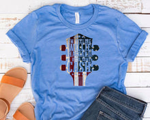 Load image into Gallery viewer, I'm Feelin Willie Haggard & Need Some Cash USA Flag SS Tee - Custom Printed Preorder Tees