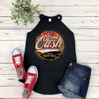 Johnny Cash Rock n Roll Boutique Tank Top - Custom Printed Preorder Tees