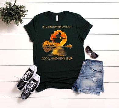 PREORDER-Cool Wind In My Hair Witch Halloween Boutique Soft Tee