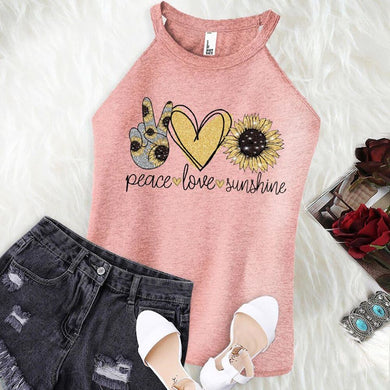 CS** Peace Love Sunshine Boutique Tank Top - Custom Printed Preorder Tees