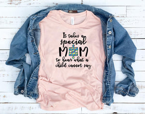 Autism Special Mom SS Boutique Tee - Custom Printed Preorder Tees