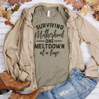 PREORDER - Surviving Motherhood Boutique Soft Tee