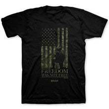 Load image into Gallery viewer, Kerusso® Freedom Was Not Free Adult Christian T-Shirt-Military