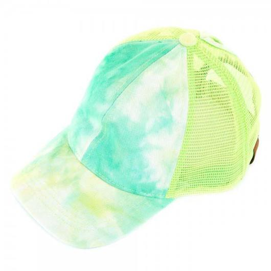 In Stock! - NEW CC Tie Dye Ponytail Trucker Cap - A Hot Seller!!