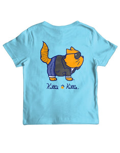 PREORDER Youth One Cool Cat SS Tee Shirt by Kittie Kittie Rescue