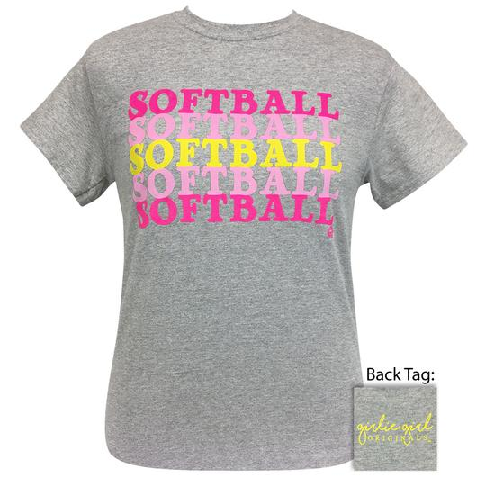 PREORDER - New SOFTBALL COLORS Short Sleeve Tee