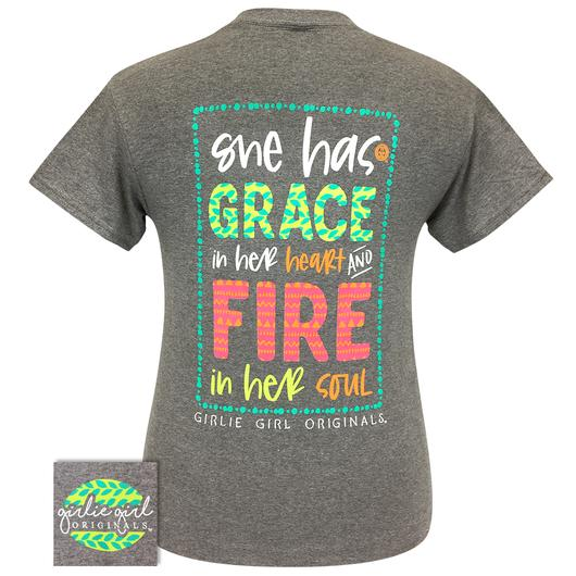 PREORDER - New GRACE & FIRE Inspirational Short Sleeve Tee