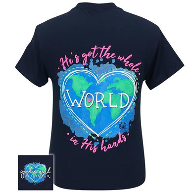 PREORDER - Whole World In His Hands Tee by Girlie Girl Originals