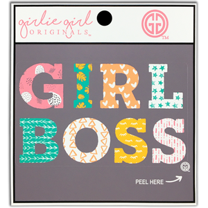 Girl Boss Decal Sticker