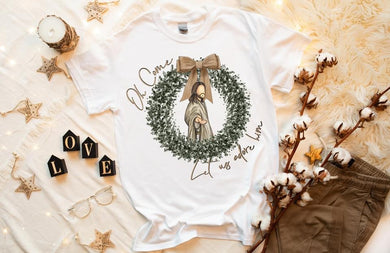 PREORDER-Oh Come Let Us Adore Him Boutique Soft Tee