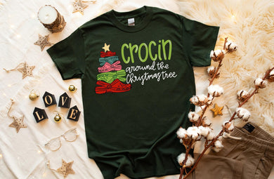PREORDER-Crocin Around The Christmas Tree Boutique Soft Tee