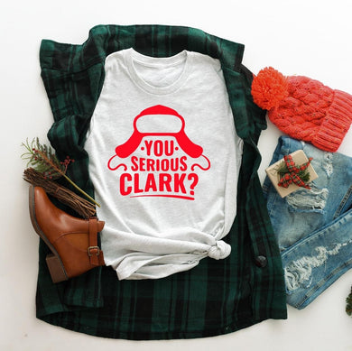 PREORDER-Cousin Eddie You Serious Clark Christmas Vacation Boutique Soft Tee