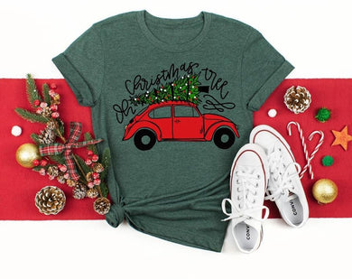 PREORDER-Oh Christmas Tree VW Bug Boutique Soft Tee