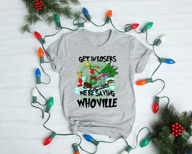 PREORDER-Get In Losers Grinch Boutique Soft Tee-