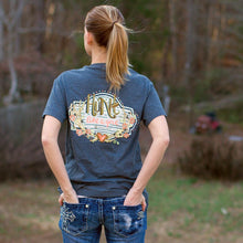 Load image into Gallery viewer, Itsa Girl Thing HUNT LIKE A GIRL Preppy Country Southern Style Tee Shirt