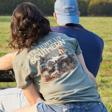 Straight Up Southern Brand - Four Wheeler Labs - Country Southern Tee Shirt