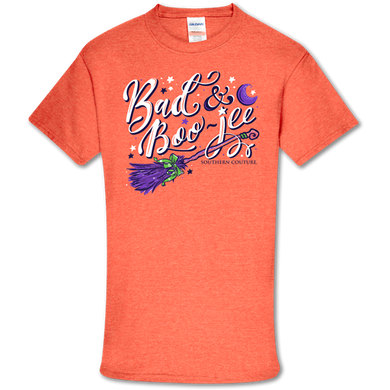 PREORDER-Bad Boo-Jee Halloween Soft Tee by Southern Couture