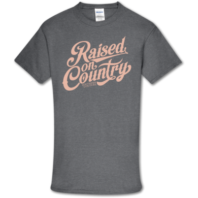 PREORDER - Raised On Country SS Softstyle Tee by Southern Couture