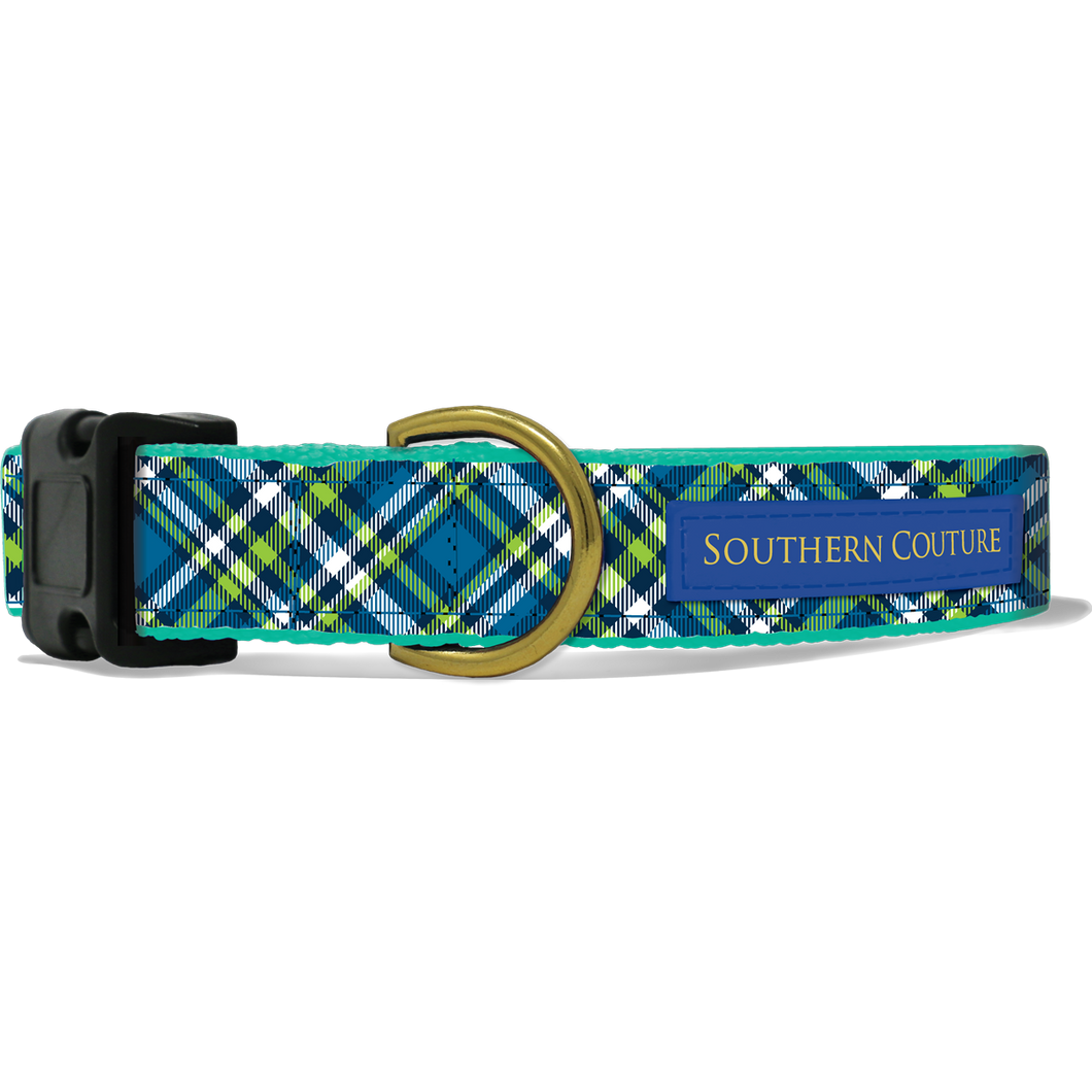 Plaid Dog Collar by Southern Couture