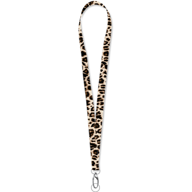 Solid Leopard Lanyard by Southern Couture
