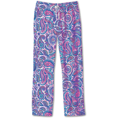 PREORDER Southern Couture Lounge Pants - Paisley (Also available in store)