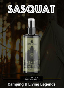 SASQUAT Turdcules Toilet Elixir - Essential Oil Bathroom Spray