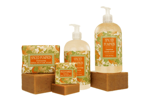 Spiced Pumpkin - 16 oz Bottle Shea Butter Spa Lotion - Fall Holiday Scent