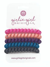 Load image into Gallery viewer, Telephone Cord Hair Ties - Matte Solid Colors - TC20