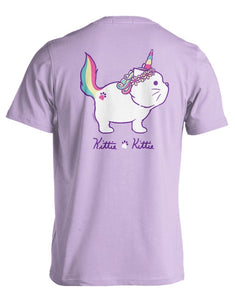 PREORDER Unicorn Kittie SS Tee Shirt by Kittie Kittie Rescue