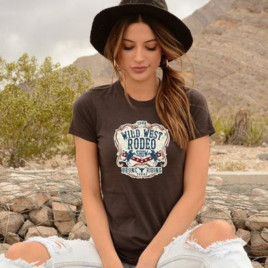 PREORDER - Wild West Rodeo Western Style Boutique Soft Tee