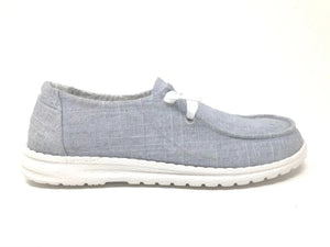 Gypsy Jazz Holly Slip On Canvas Sneaker: Light Grey